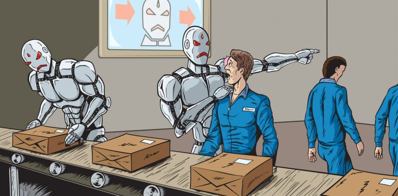 robots taking jobs